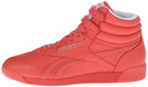 Reebok Freestyle Hi Spirit Energy/White