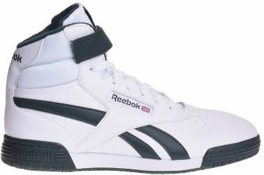 Reebok Ex-O-Fit Clean Hi S - White/Dark Forest (BS5324)