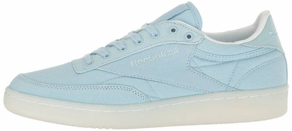 Reebok Club C 85 Canvas - Zee Blue/White