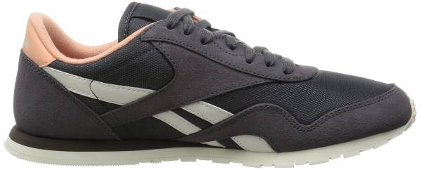 Reebok Classic Nylon Slim Core - Grey / Brown / Pink (Ash Grey / Desert Stone / Chalk)