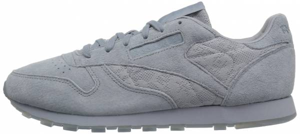 Reebok Classic Leather Lace - Gris Meteor Grey White