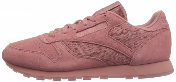 Reebok Classic Leather Lace - Pink Grey Sandy Rose White