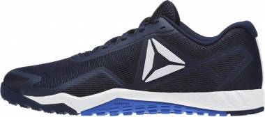 Reebok ROS Workout TR 2.0 Collegiate Navy/White/Acid Blue Men