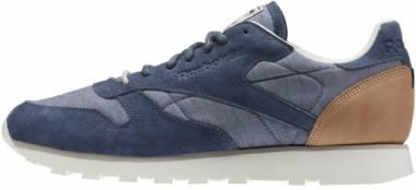 Reebok Classic Leather Fleck - Blue (AQ9722)