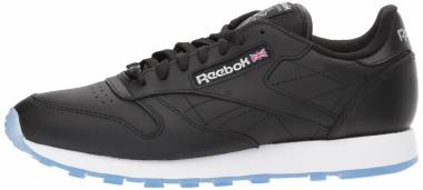 Reebok Classic Leather Ice - Black White Silver Ice