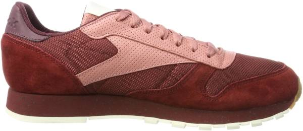 Reebok Classic Leather SM - RUGGED MAROON/SANDY ROSE/