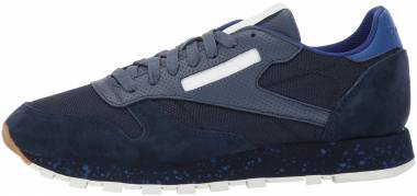 Reebok Classic Leather SM - Collegiate Navy/Sky Indigo/Deep Cobalt/Chalk