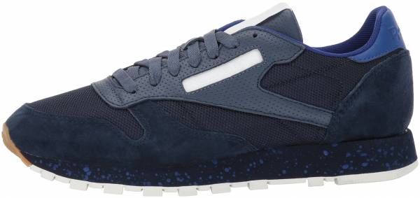 8674abb646e Reebok Classic Leather SM Collegiate Navy Sky Indigo Deep Cobalt Chalk