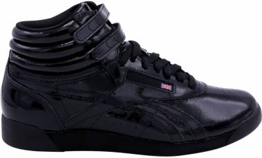 Reebok Freestyle Hi Patent - Black