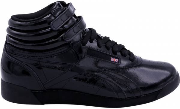 Reebok Freestyle Hi Patent Black