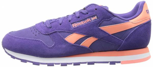 Reebok Classic Leather W&W Sport Violet/Coral/White