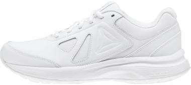 Reebok Walk Ultra 6 DMX Max - White/Steel - Wide E (BS9535)