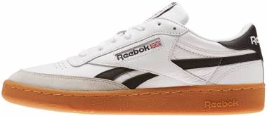 Reebok Revenge Plus Gum - White Snowy Grey Black Gum