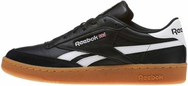 d9799a92ee840 Reebok Revenge Plus Gum Black White Gum Men