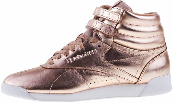 4249c1a95a7 7 Reasons to NOT to Buy Reebok Freestyle Hi Metallic (Mar 2019 ...