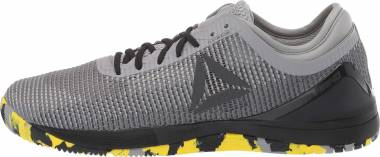 Reebok CrossFit Nano 8 Flexweave - Shark Tin Grey Ash Grey Black Go Yellow (DV5817)