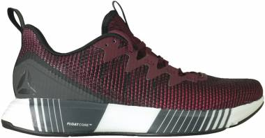 Reebok Fusion Flexweave Black/Rustic Wine/Cranberry Men