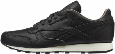 Reebok Classic Leather Lux Horween Black Men