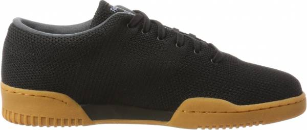 Reebok Workout Clean OG Ultraknit Negro (Black/Meteor Grey/Excellent Red- Gum)