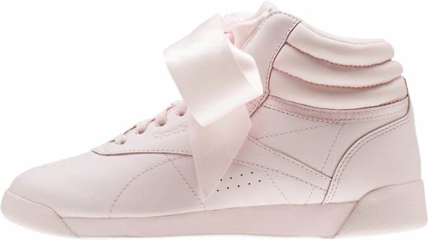 Reebok Freestyle Hi Satin Bow Pink