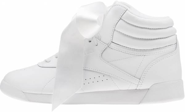 a5d81a315babc Reebok Freestyle Hi Satin Bow