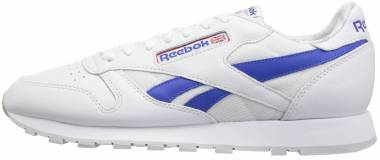 Reebok Classic Leather SO - White/Vital Blue/Primal Red/Lgh Solid Grey