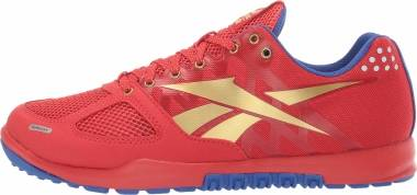 Reebok CrossFit Nano 2.0 - Primal Red Crushed Cobalt True Gold White