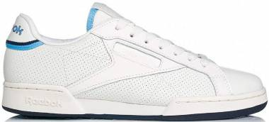 Reebok Mens Complete Leather Trainers Sports Shoes Court Lace Up Tonal