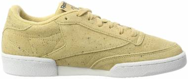 Reebok Club C 85 SS Beige (Beige/Collegiate Navy/White) Men