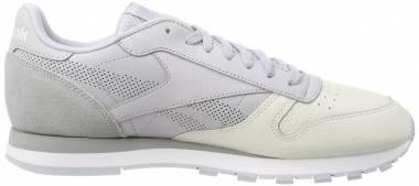 64a5f18f84711 Reebok Classic Leather UE Cloud Grey Chalk Stark Grey White Men