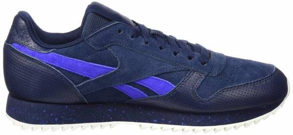 Reebok Classic Leather Ripple SM - Grau Collegiate Navyacid Bluechalk