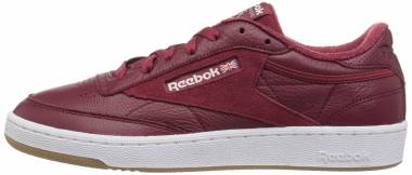 Reebok Club C 85 ESTL Urban Maroon/White/Washed Blue Gum Men