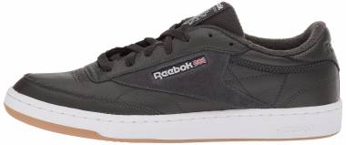 Reebok Club C 85 ESTL - Black Coal White Washed Blue Gum 000 (CM8795)