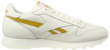 668a52b14a0 Reebok Classic Leather MU Beige (Vintage-chalk Wild Khaki 0) Men