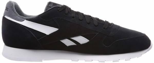 Reebok Classic Leather MU - Black E St L Black True Grey E St L Black True Grey (CN7107)