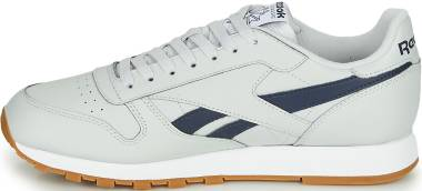 Reebok Classic Leather MU - Pure Grey 2 / Collegiate Navy / White