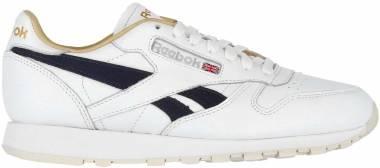Reebok Classic Leather MU - White Purple Delirium Paperwhite (EH1201)