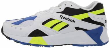 Reebok Aztrek - White Black Cobalt Yellow