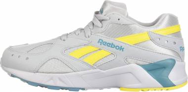 Reebok Aztrek Cold Grey/Mineral Mist/Yellow Men