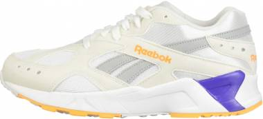 Reebok Aztrek White/True Grey/Solar Gold/Team Purple Men