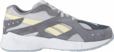 Reebok Aztrek - Cold Grey White Bluehills Washedyellow