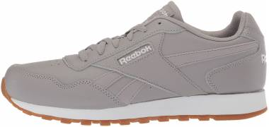 low priced 15b8e 53dfe Reebok Classic Harman Run Powder Grey White Gum Men