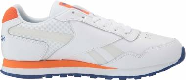 Reebok Classic Harman Run - White/Cobalt/Orange/Grey