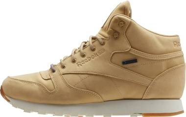 Reebok Classic Leather Mid GTX-Thin - BEIGE/PAPERWHITE-GUM (BS7882)