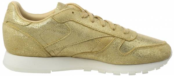 Reebok Classic Leather Shimmer Gold