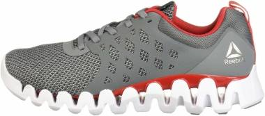 Reebok Zig Pulse 3 - Grey Red White Silver