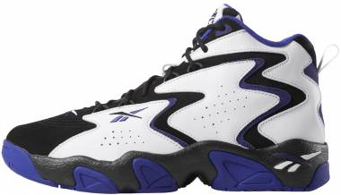 Reebok Mobius - Two Tone Black White Pigment Purple