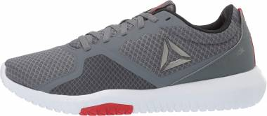 Reebok Flexagon Force - Alloy/White/Primal Red/Pewter/Black 1006