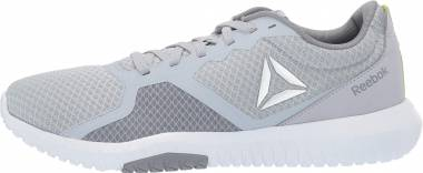 Reebok Flexagon Force - Cold Grey White Neon Lime Silver
