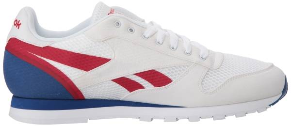 Reebok Classic Leather MVS White Excellent Red Team a3ba8b316